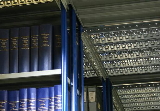 Leoni Scaffalature Spa.Archivio Ursano Arredamento La Spezia